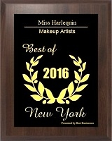 Miss Harlequin selected for 2016 New York Small Business Excellence Award