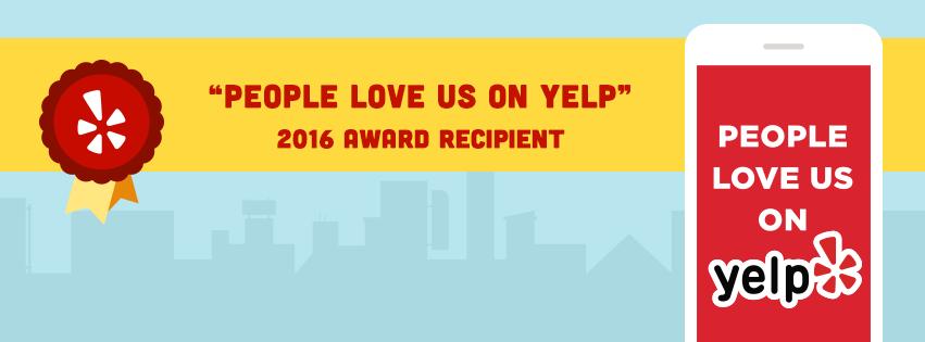 2016 Yelp Award Winner - Miss Harlequin!!!