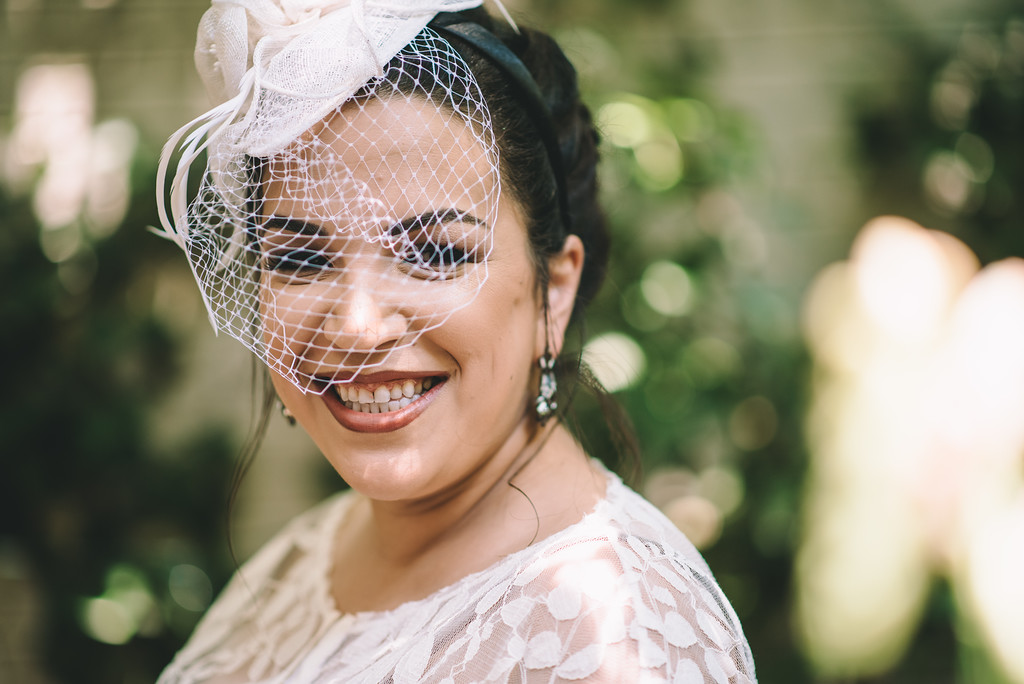 Wedding Hairstyles - Wedding of Sarah & Juan