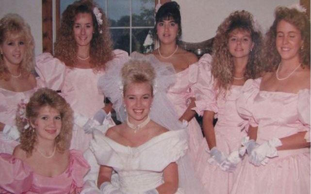 80s wedding hair