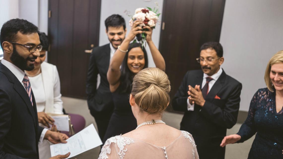 Wedding Hairstyles - Wedding of Leah & Noel