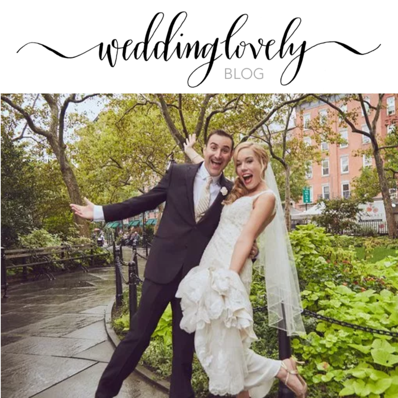 We're Featured in WeddingLovely!